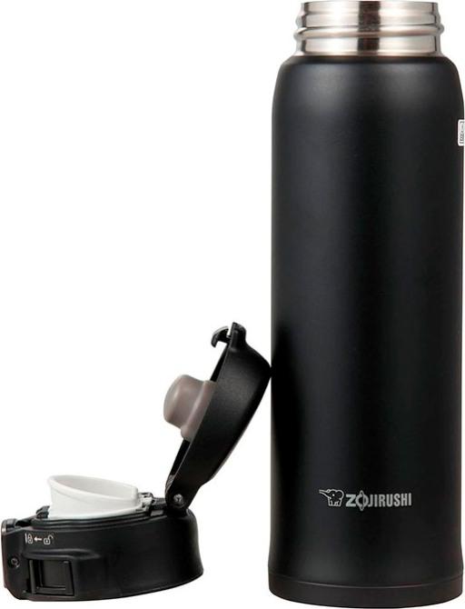 Японский термостакан Zojirushi SM-SC48 с тефлоновым покрытием - удобная форма