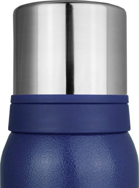 Цветной термос для напитков Биосталь NBA-B - двойная крышка-чашка