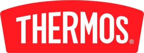 Кружка-термос Thermos TCMF 500 мл с ситом - логотип компании-производителя