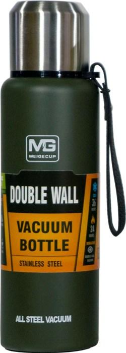 Термос-фляга с ситом для напитков Steel Meigecup 750 мл - удобная форма