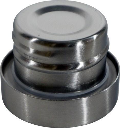 Термос-фляга с ситом для напитков Steel Meigecup 750 мл - глухая пробка из металла