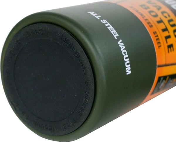 Термос-фляга с ситом для напитков Steel Meigecup 750 мл - прорезиненное дно