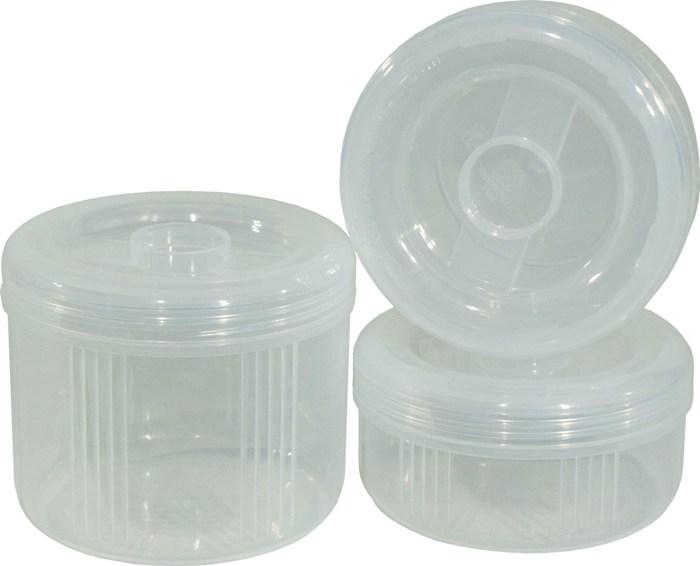 Термос с тремя контейнерами Арктика 403-1500 для еды - судочки