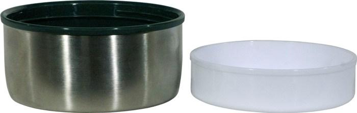 Суповой термос Арктика серии 306 A в чехле - крышка и миска