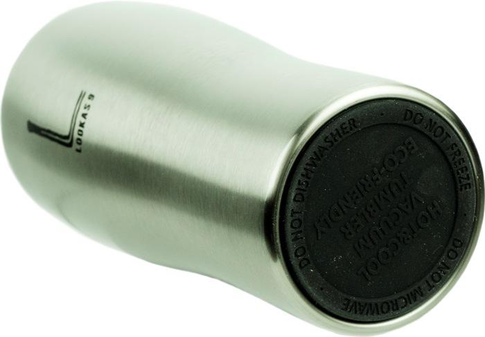 Термокружка Lookas 9 450 мл с поилкой - прорезиненное дно