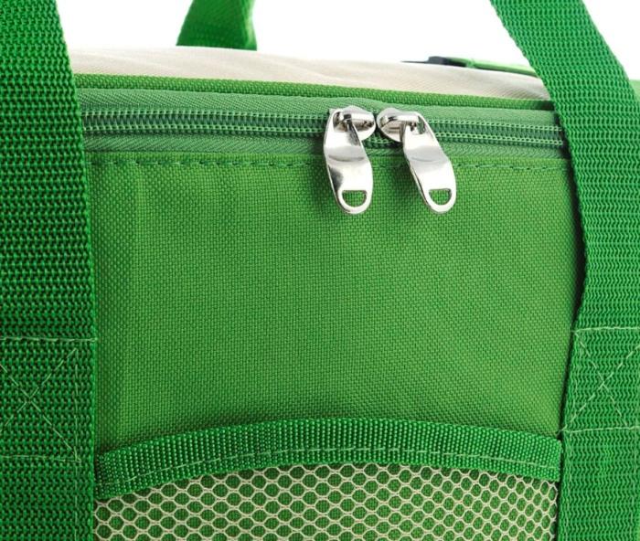 Сумка-холодильник Green Glade 25 литров для продуктов - крышка на молнии