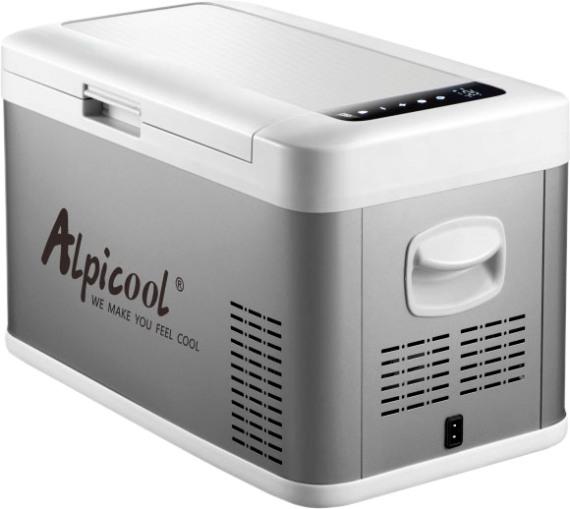 Компрессорный автомобильный холодильник Alpicool MK25 - удобный и стильный дизайн