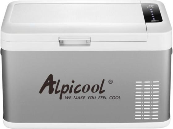Компрессорный автомобильный холодильник Alpicool MK25 - надёжная крышка
