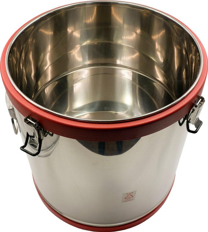 Термобочка из нержавеющей стали Steel для еды и напитков - внутренняя ёмкость из нержавеющей стали