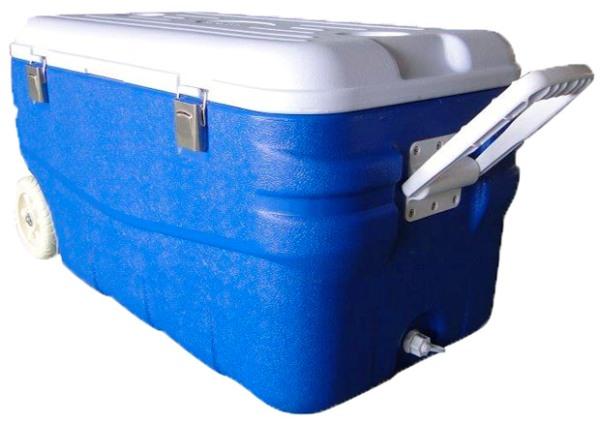 Изотермический контейнер Арктика 2000 серии 80 литров - защёлки на крышке