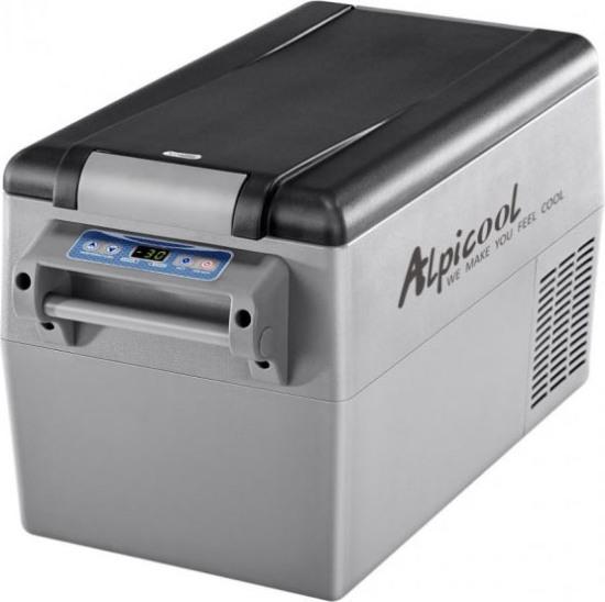 Компрессорный автомобильный холодильник Alpicool CF35 - надёжная крышка