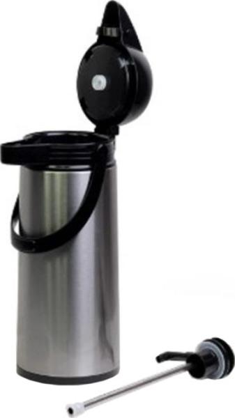 Термос стеклянный DayDays с помпой 1,9 литра - механизм пневмонасоса