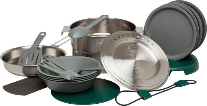 Туристический набор посуды Stanley Adventure Full Kitchen Base Camp Cookset - полный комплект