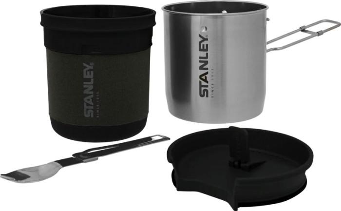 Туристический набор посуды Stanley Adventure Bowl + Spork Compact Cookset - полный комплект