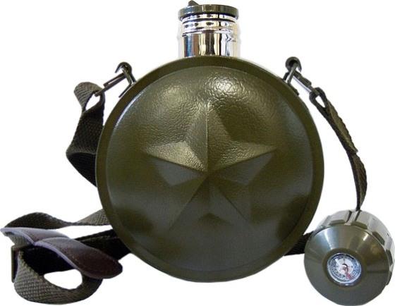 Термос-фляга Star Flask 800 - удобная форма