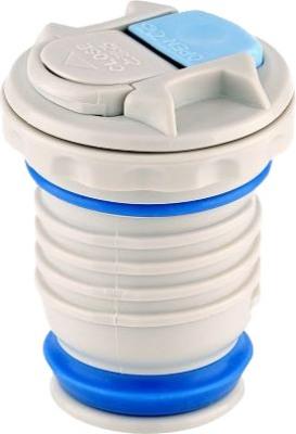 Классический термос Thermos FBB Midnight Blue 1 литр - пробка с кнопкой-клавишей